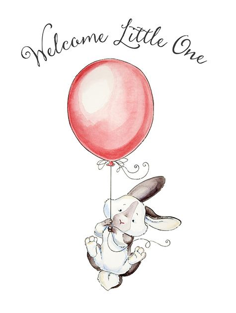Picture of Welcome Little One Bunny