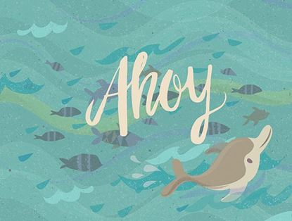 Picture of Ahoy Dolphin