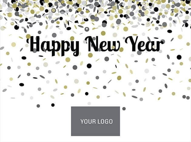picture of confetti new year logo