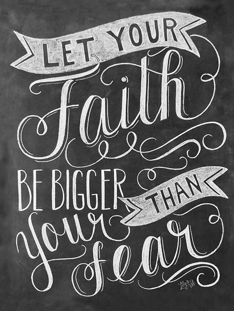 Picture of Faith Bigger Than Fear