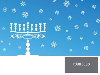 Picture of Frosty Menorah