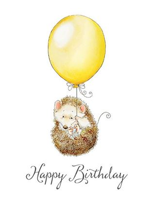 Picture of Happy Birthday Hedgehog