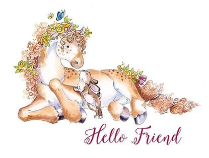 Picture of Hello Friend Pony