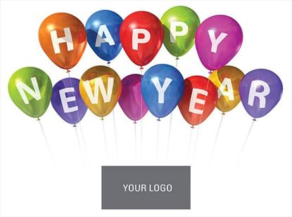 Picture of Balloon New Year Logo