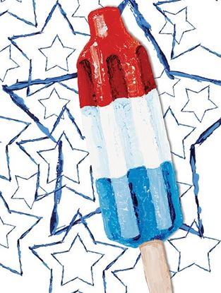 Picture of Stars Popsicle