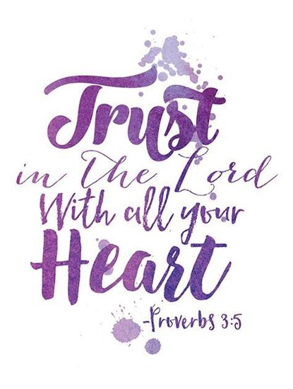 Picture of Trust in the Lord