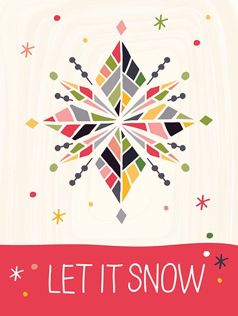 Picture of Let It Snowflakes