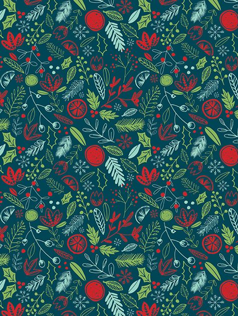 Picture of Festive Holiday Pattern