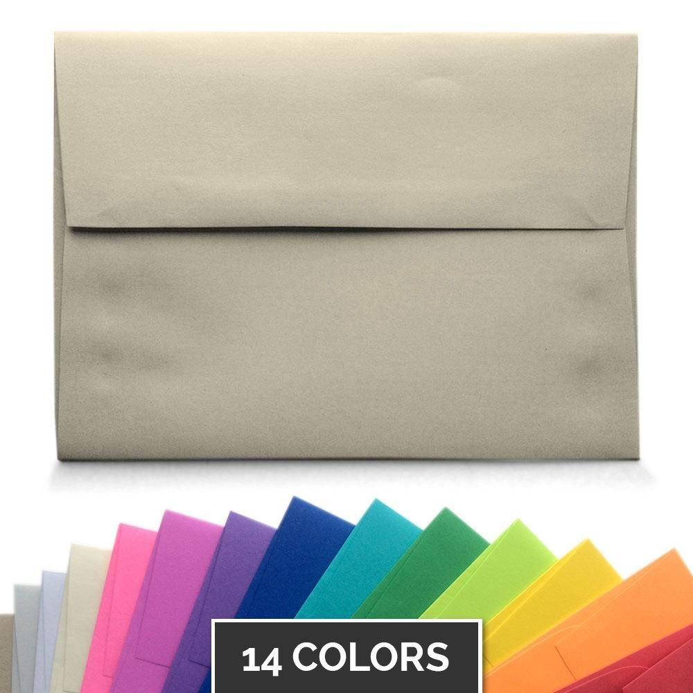 A6 Envelopes - 14 Colors