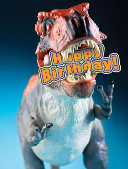 Picture of Birthday T-Rex