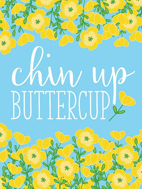 Picture of Chin Up Buttercup