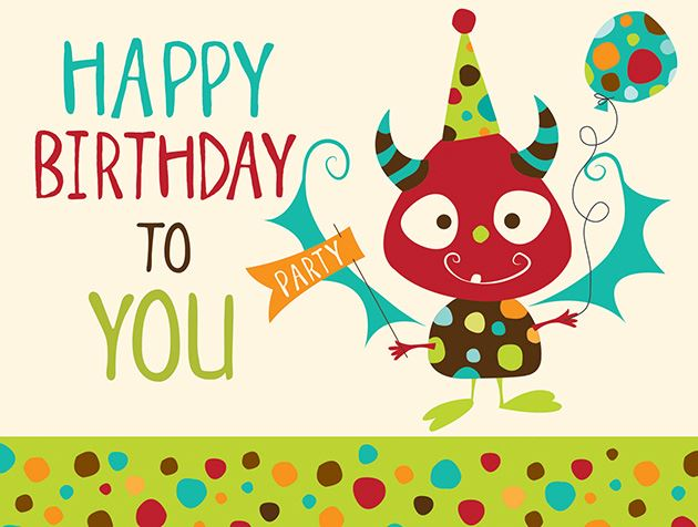 Picture of Happy Birthday to You Monster
