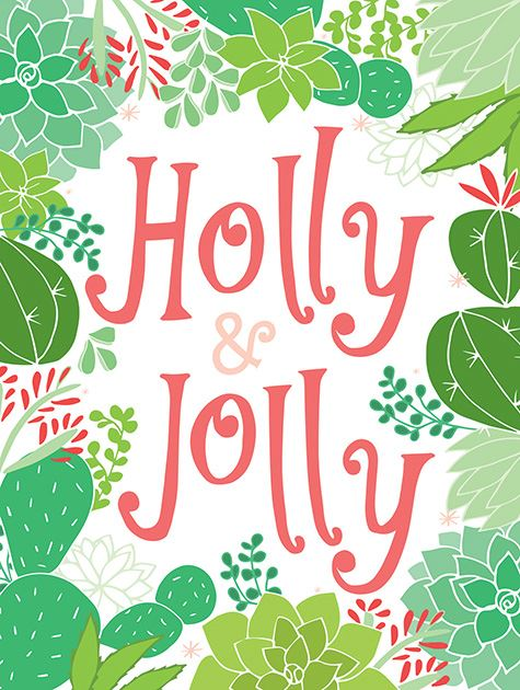 Picture of Holly & Jolly Cactus